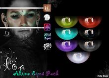 ::Loa:: Alien Eyes Pack~LeLutka/OMEGA/Mesh/BOM~