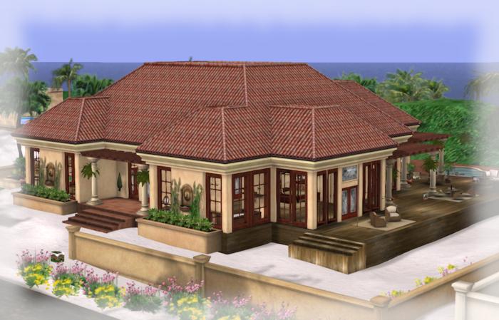 SEDONA HOUSE PART MESH