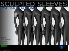 Sculpt full perm Sleeves 1a - for cloth designers