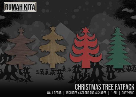 Rumah Kita - Christmas Tree Fatpack