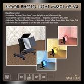 AVALON : Floor Photo Light MM01-02