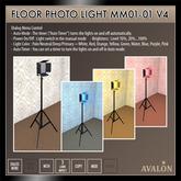 AVALON : Floor Photo Light MM01-01