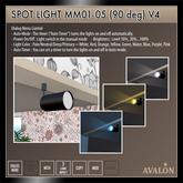 AVALON : Spot Light MM01-05 (90 deg)
