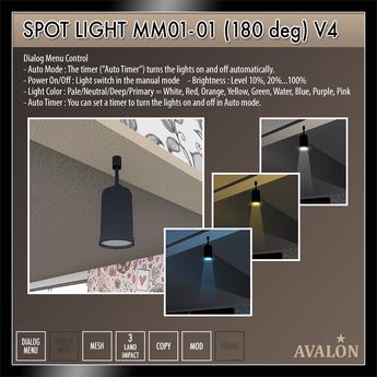 AVALON : Spot Light MM01-01 (180 deg)