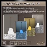 AVALON : Pendant Light MM01-01