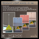 AVALON : Pendant Light MM02-01