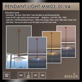 AVALON : Pendant Light MM03-01