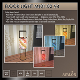 AVALON : Floor Light MJ01-02