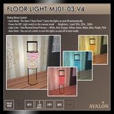 AVALON : Floor Light MJ01-03
