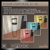 AVALON : Floor Light MJ02-01