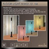 AVALON : Floor Light MM01-01