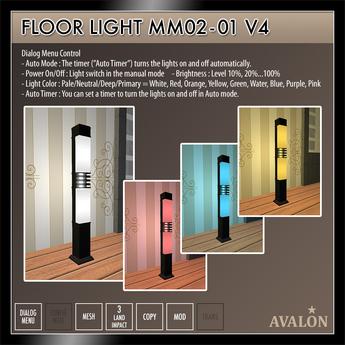 AVALON : Floor Light MM02-01