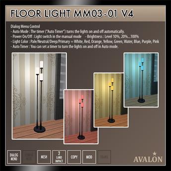 AVALON : Floor Light MM03-01