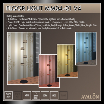 AVALON : Floor Light MM04-01
