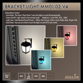 AVALON : Bracket Light MM01-02