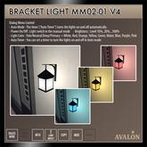 AVALON : Bracket Light MM02-01