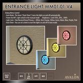 AVALON : Entrance Light MM01-01