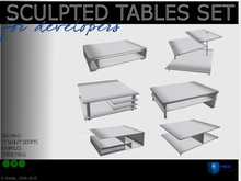 Sculpted Tables Set series A