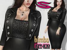::Smexy:: Bimbo Business JacketSkirt Set BLACK