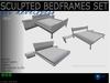 Sculpted bedframes Set  1 prim  - full perm