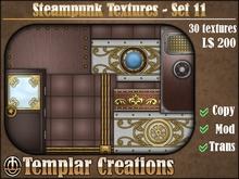 Steampunk Textures - Set 11