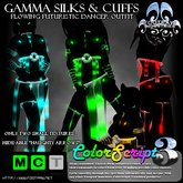 [FPI] Gamma Silks Outfit - Hypnotic glowing color flexi ribbons & Naughty arrows
