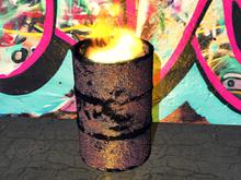 Burn Barrel - 1 prim each