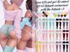 Lunar - Joss Panties & Shorts & Socks - FATPACK