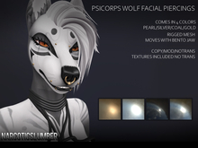 NS Psicorp wolf piercings rigged