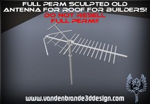 ~Full perm sculpted Old roof antenna+ Maps