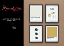 Moonley Inc. - Winter White Xmas Frame Set