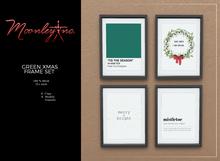 Moonley Inc. - Green Xmas Frame Set