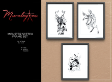 Moonley Inc. - Monster Scetch Frame Set