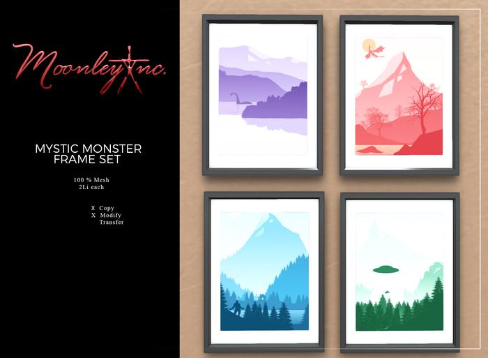 Moonley Inc. - Mystic Monster Frame Set