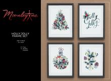 Moonley Inc. - Holly Jolly Frame Set