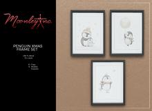 Moonley Inc. - Penguin Xmas Frame Set