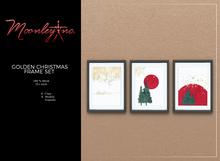 Moonley Inc. - Golden Christmas Frame Set