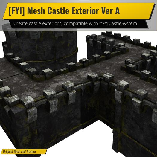 [FYI] Mesh Castle Exterior Version A