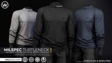 [WAZ] Milspec Turtleneck (Black)