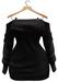 BUENO-Lexi Sweater Dress-Black