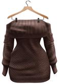 BUENO-Lexi Sweater Dress-Cafe