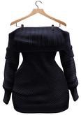 BUENO-Lexi Sweater Dress-Navy