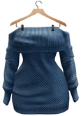 BUENO-Lexi Sweater Dress-Sky