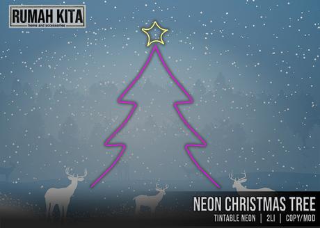 Rumah Kita - Neon Christmas Tree