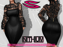 ::Smexy:: Bolero Dress BLACK