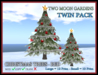 TMG - CHRISTMAS TREES - RED TWIN PACK*