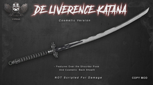 [The Forge] Deliverence Katana, Cosmetic.