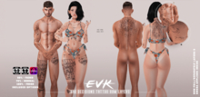 [ E V K ] Bad Decisions Tattoo