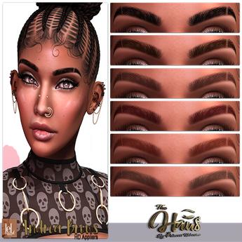 .:the-HAUS:. Andrea HD Eyebrows (LeL + LeL Evo X)