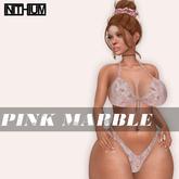 OX Apparel - Pink Marble - Bikini // KUPRA